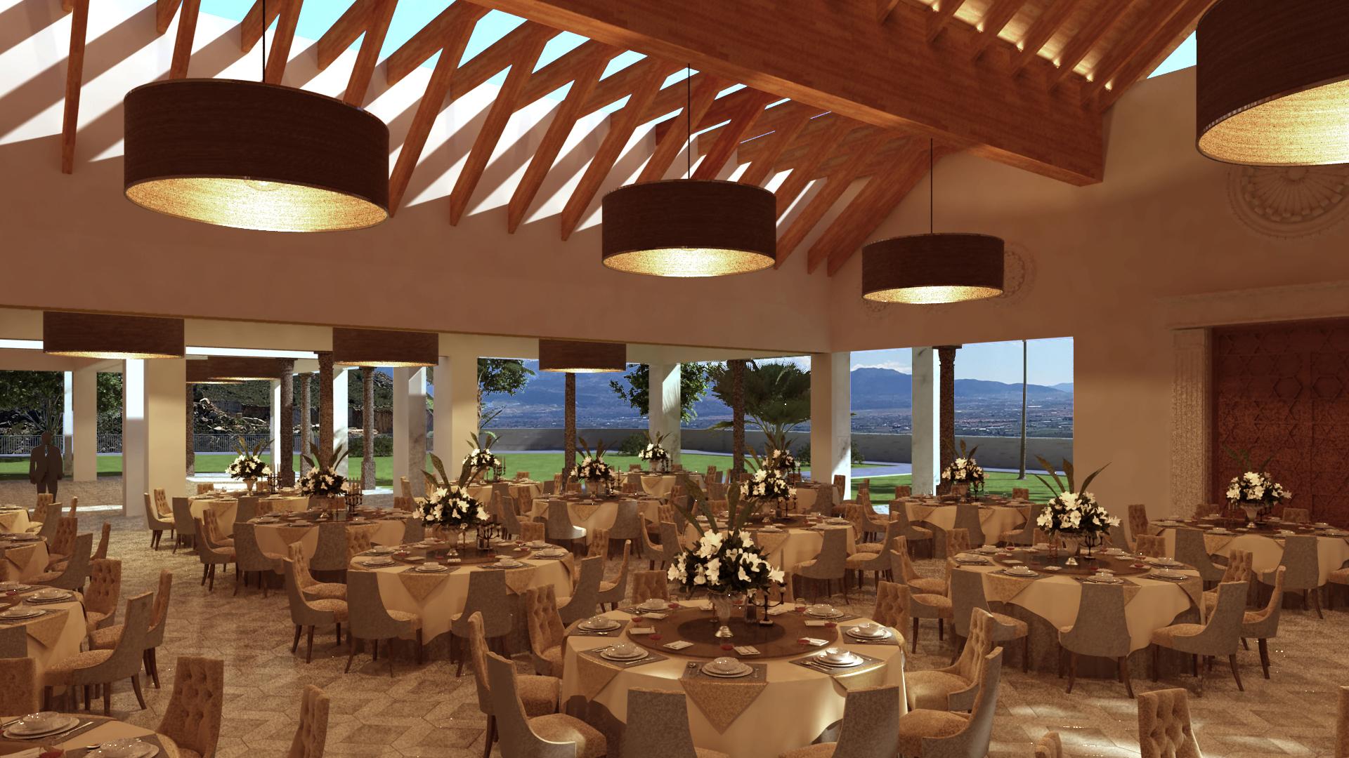 Dintel 2 estudio de arquitectura sal n de celebraciones for Acuario salon de celebraciones